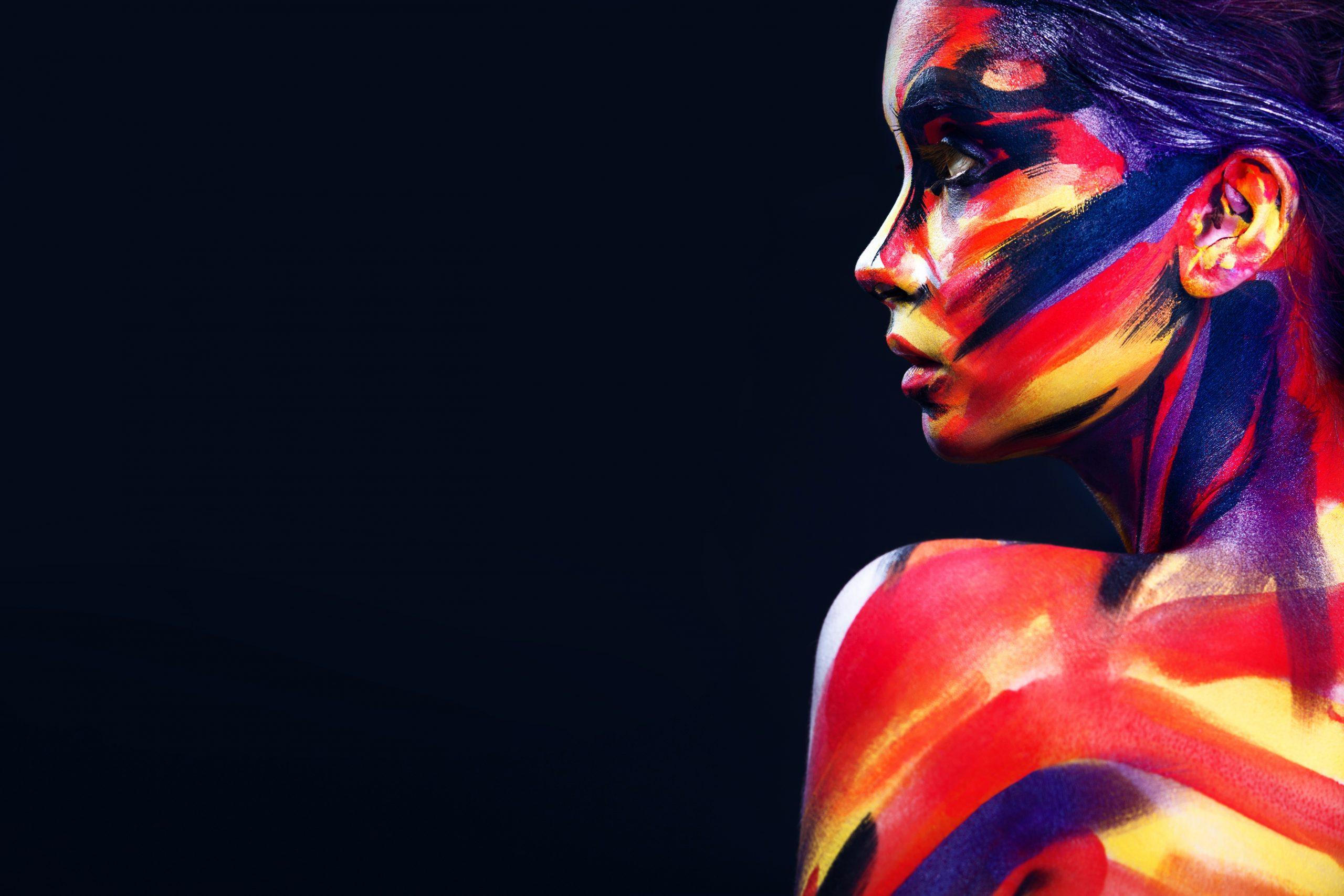 Body-Art Woman | Jack R. Hayes
